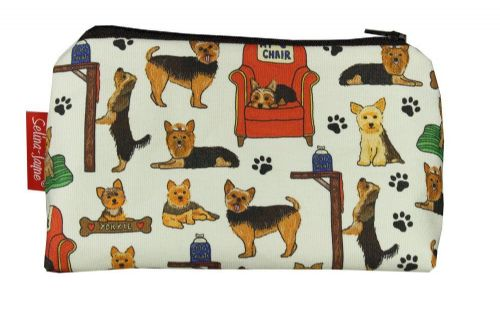 Selina-Jayne Yorkshire Terrier Limited Edition Designer Cosmetic Bag